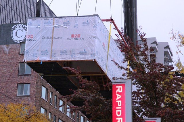 IMG 4351 New Homes Go Airborne in Belltown