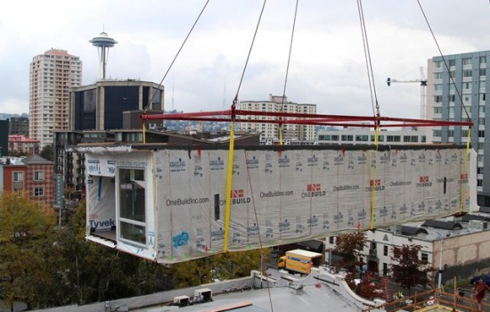 New Homes Go Airborne in Belltown