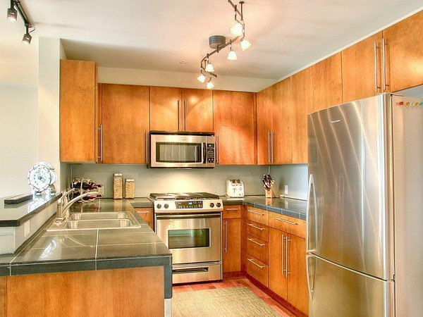 Meritage Kitchen Rent My Fully Furnished Capitol Hill Condo
