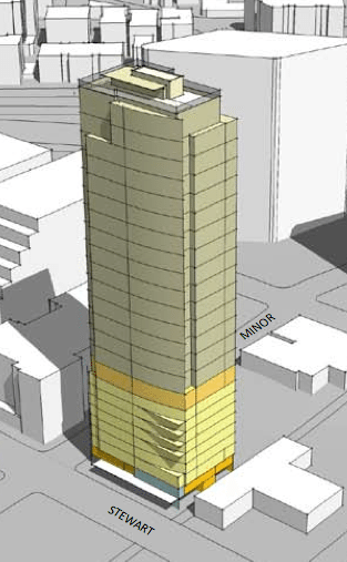 gisseattletower 600 More Condos (and Hotel Units) Coming to Downtown