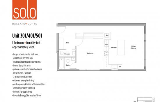 Solo Lofts Floorplans