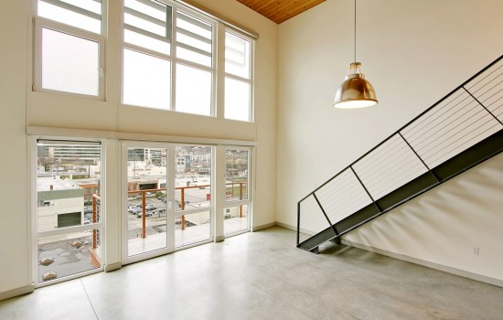 Two-story Modern Top Floor Loft In South Lake Union