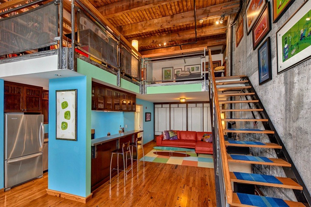 Full height at monique lofts urban living for 500 sq ft house with loft