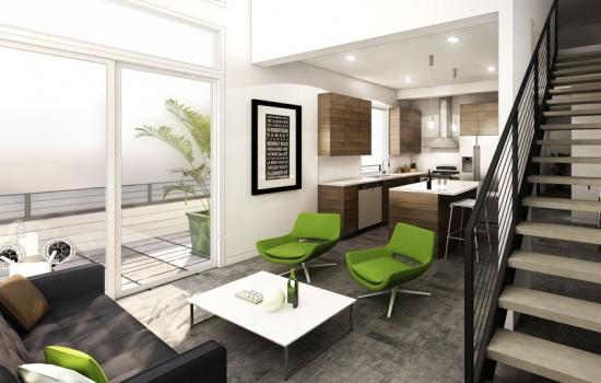 Solo Lofts Interior Renderings