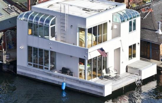 Killer Views from Jim Olson Houseboat