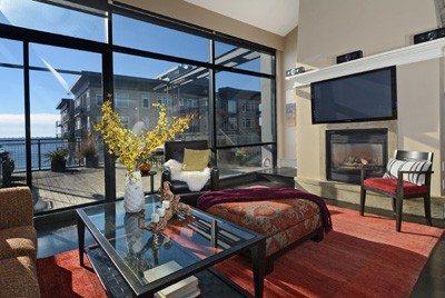 80 Vine St - Unit 703 - Living Room 2