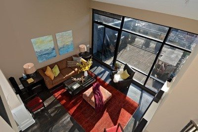80 Vine St - Unit 703 - Living Room
