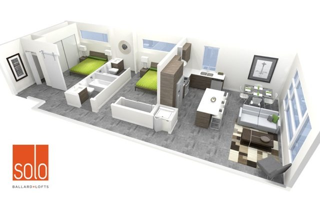 Solo Lofts   25% Sold