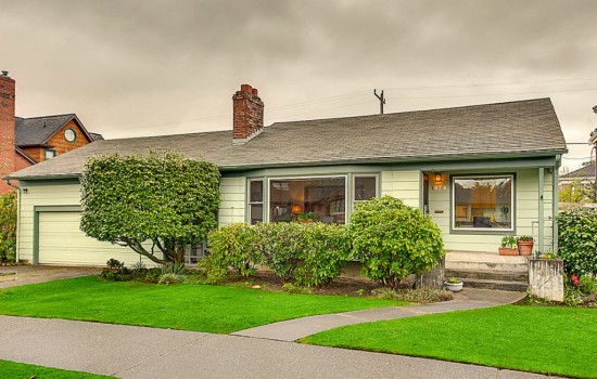 Madison Park Mid-Century with Double Lot
