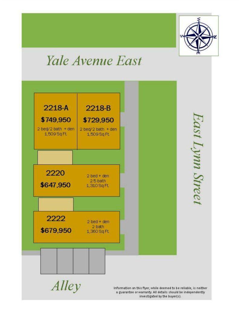 2220 Yale Ave E - Plat Plan