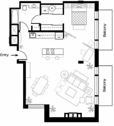 2245 Eastlake Ave E - Floor Plan