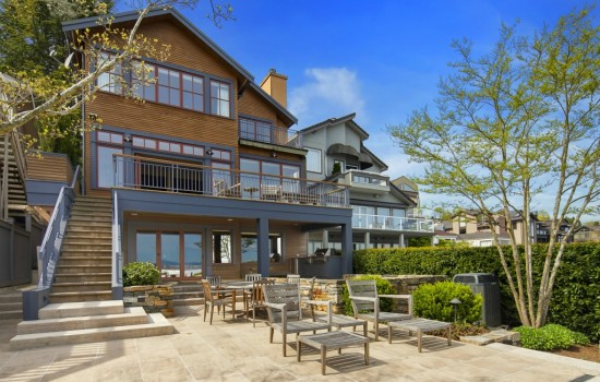 Sounders GM Adrian Hanauer's Waterfront Home
