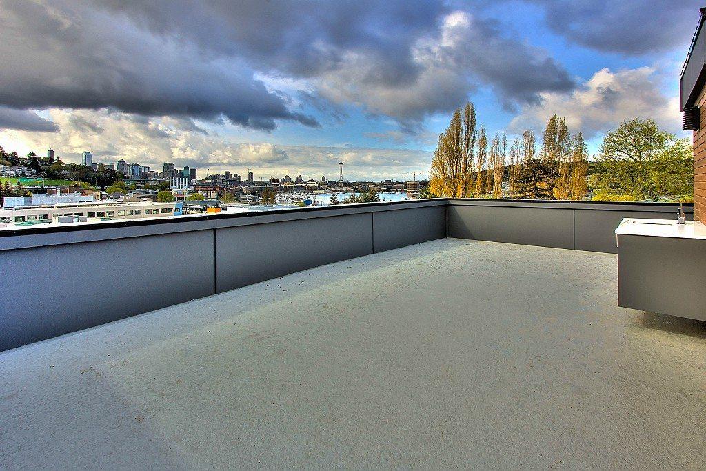 1911 Franklin Pl E - Roof deck