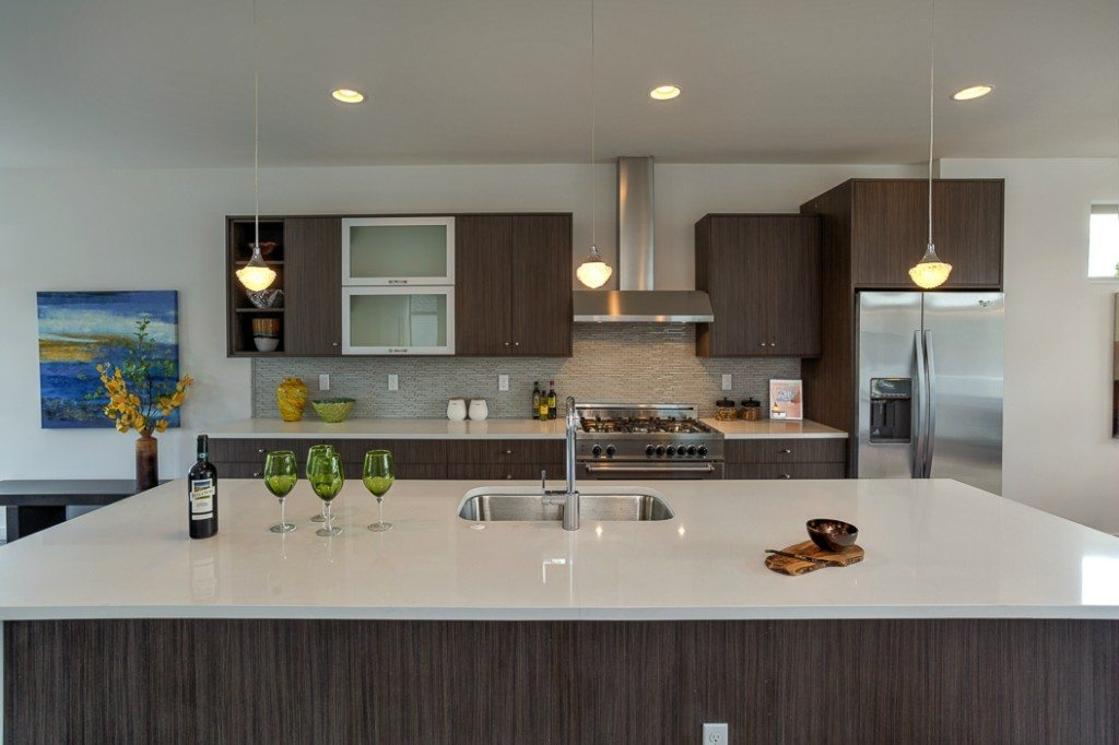 5237 S Farrar St Kitchen Seward Park Modern with Lake Views