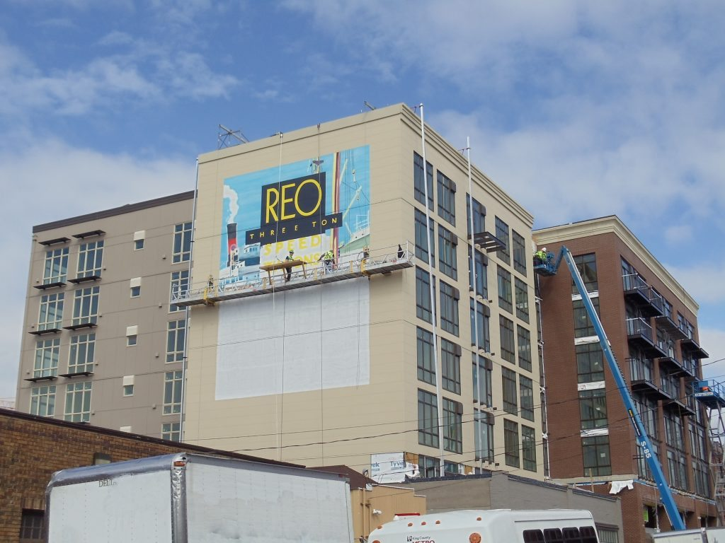 REO Flats Mural 4.11.14