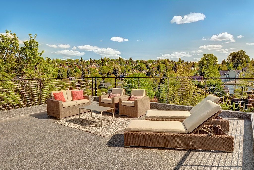 122 27th Ave E Rooftop Featured Listing: 3 Isola Homes in Madison Valley