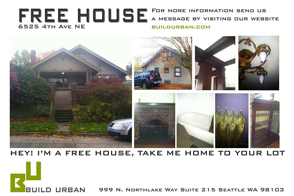 Free House 1 Free House! You Just Gotta Move It...