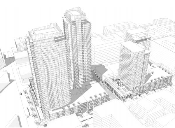 Onni Group Denny Way and Thomas More Details on the 2,000 Units Coming to SLU