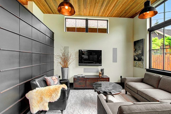 1931 6th Ave W Living Inspired by the aesthetic of a French industrial loft