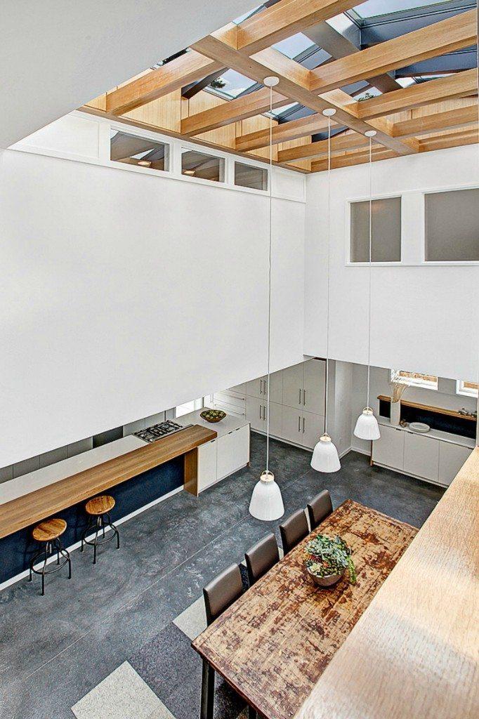 56th atrium New D3 Design/Build Modern in Hawthorne Hills