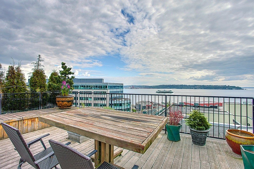 Belltown Lofts, unit 301, Deck