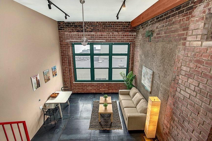Belltown Lofts, unit 301, Interior