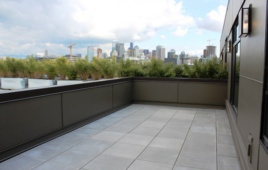 South Lake Union Two-Bedroom with Perfect Private Patio for Summer
