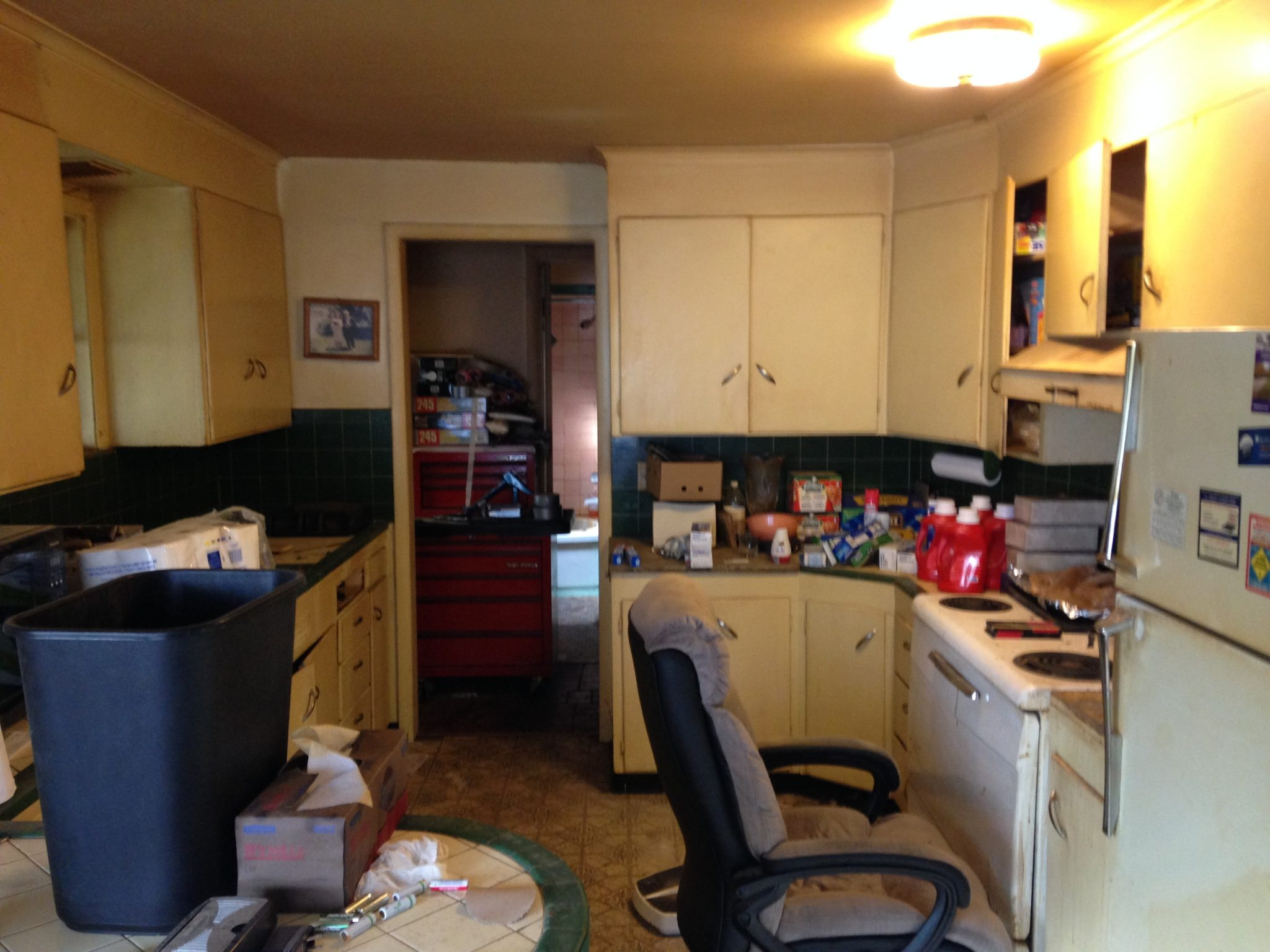 360 kitchen 2 before Before and After: Winning Remodel in Victory Heights