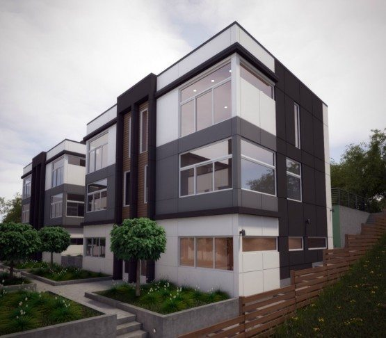 Find Townhomes: New Isola Townhomes On West Slope QA