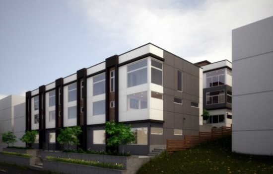New Isola Townhomes on West Slope QA