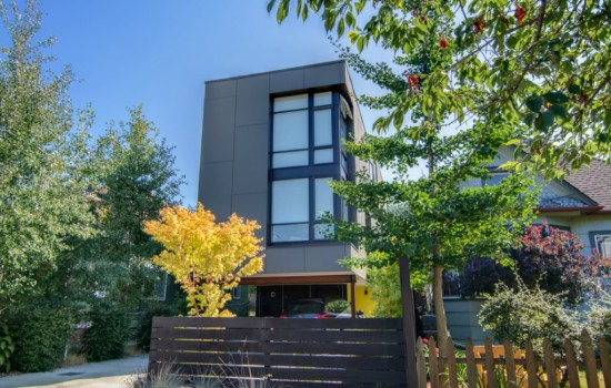 Capitol Hill Contemporary Townhouse In A Sea Of Cookie Cutters