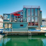 Hamlin St houseboat facade 150x150 Contemporary Loft Townhome in Eastlake