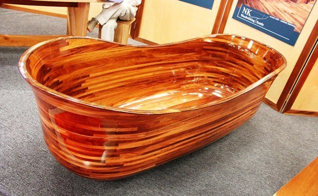 A $30K Wood Bathtub, Corian, & Other Seattle Home Show ...