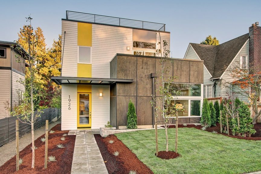 New West Seattle 4 Bedroom House With Rooftop Views - urbnlivn