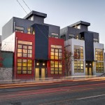 Some Modern Townhomes in North Ballard