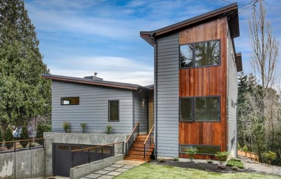 New Contemporary on Mercer Island