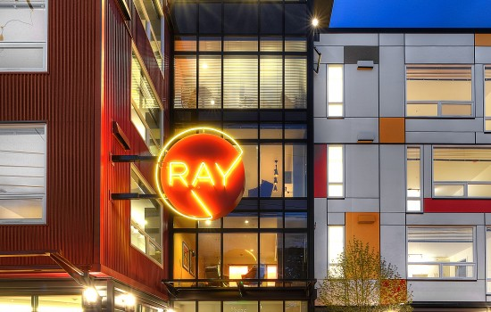 Ray, the Only Apartment with an Orangery?