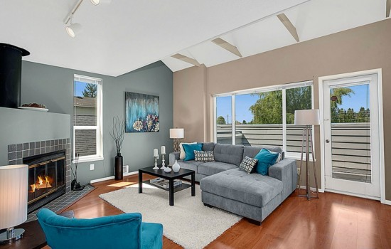 Spacious (and unique) North Queen Anne Condo