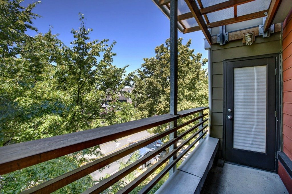 5926 California Ave SW unit C - deck 2nd floor