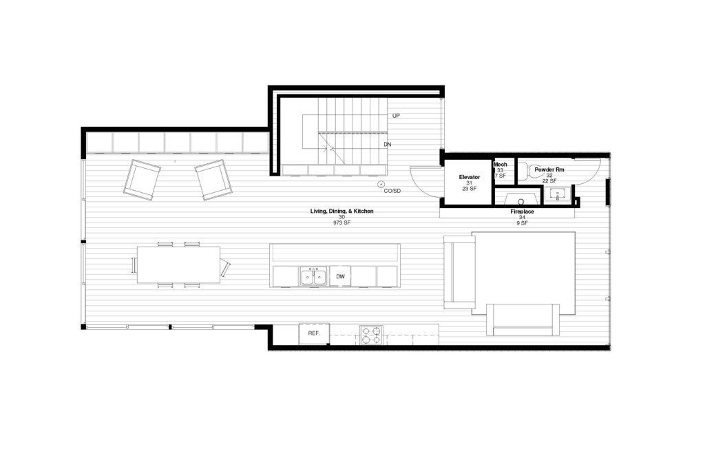 431 26th Ave E plans - 3rd floor