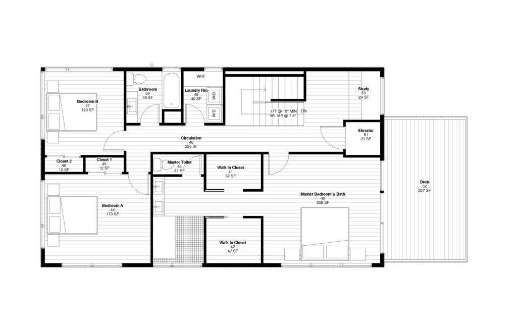 431 26th Ave E plans - 4th floor