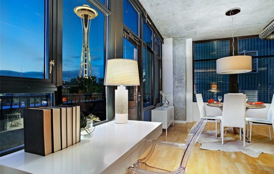 Space Needle Views from Mosler Lofts