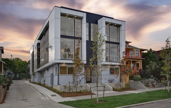 4 Modern Townhouses on Capitol Hill