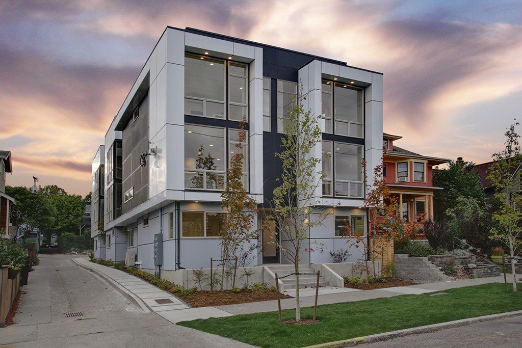 4 Modern Townhouses On Capitol Hill Urbnlivn