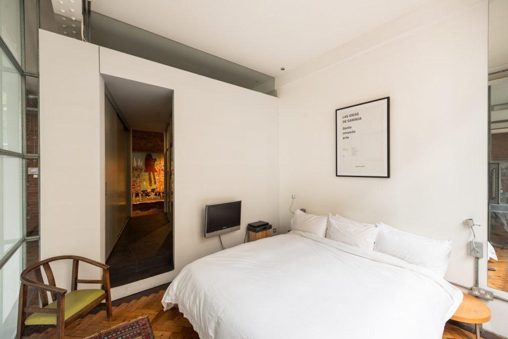 Loft - Nile St London - bed