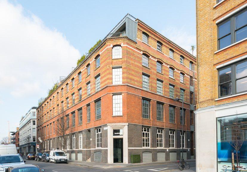 Loft - Nile St London - facade
