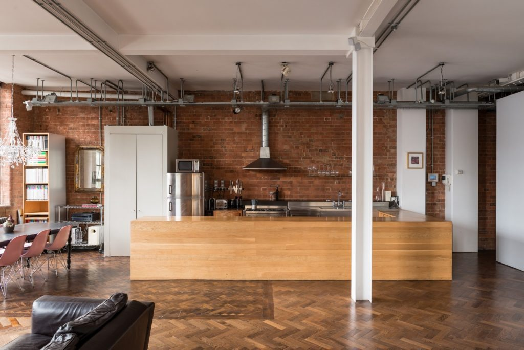 Loft - Nile St London - kitchen
