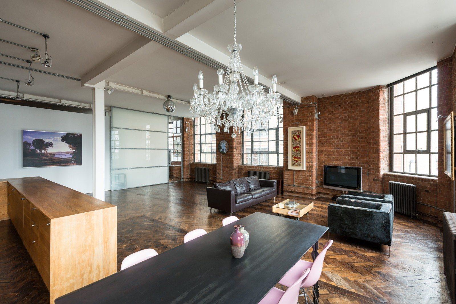 Warehouse Loft In London England Urban Living