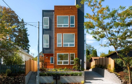 Firewalker Brings 3 Townhomes to Capitol Hill