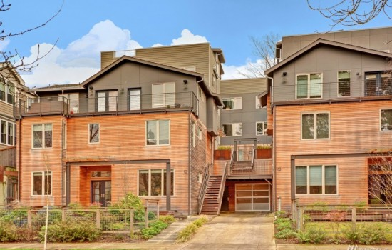 Luxury North Capitol Hill Townhome
